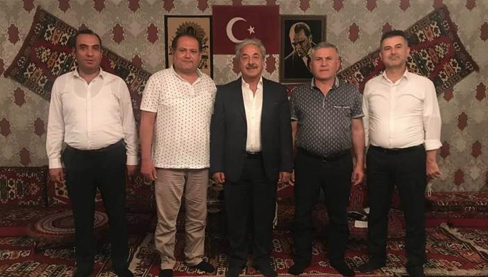 HATİAB Başkanı İbrahim Güder'den Hatay Ziyareti